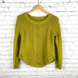 Aerie Knit Braided Sweater